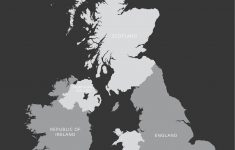 Free Printable Map Of Uk And Ireland