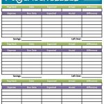Budget Worksheet Printable | Get Paid Weekly And Charlie Gets Paid   Free Printable Bi Weekly Budget Template