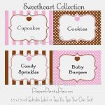 Candy Labels Templates – Keni.candlecomfortzone – Label Maker Ideas   Free Printable Candy Buffet Labels Templates