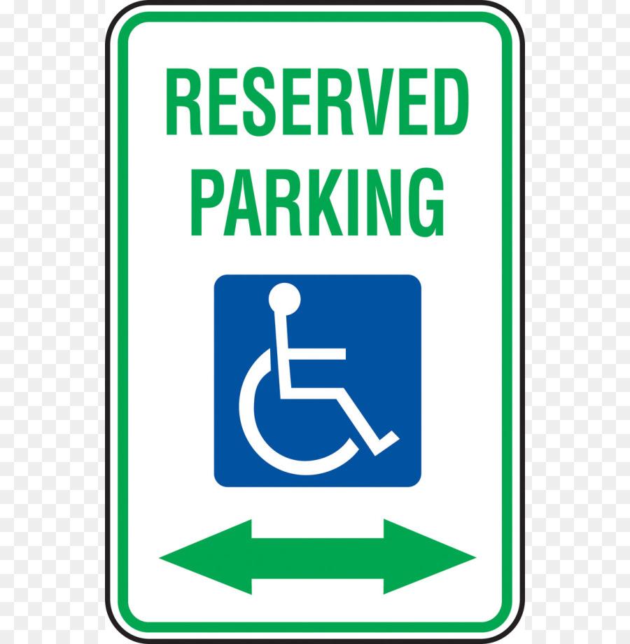 Car Park Sign Disabled Parking Permit Disability - Printable - Free Printable Parking Permits