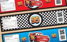 Cars Bottle Labels Free Printable Disney Cars Lightning Mcqueen – Free Printable Disney Cars Water Bottle Labels