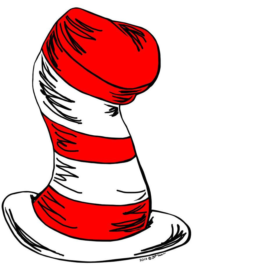 Cat In The Hat Clipart | Dr. Suess | Dr Seuss Hat, Cat Hat, Dr Seuss - Free Printable Cat In The Hat Clip Art