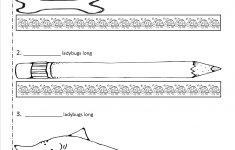 Free Printable Measurement Worksheets Grade 1