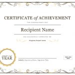 Certificates   Office   Free Customizable Printable Certificates Of Achievement