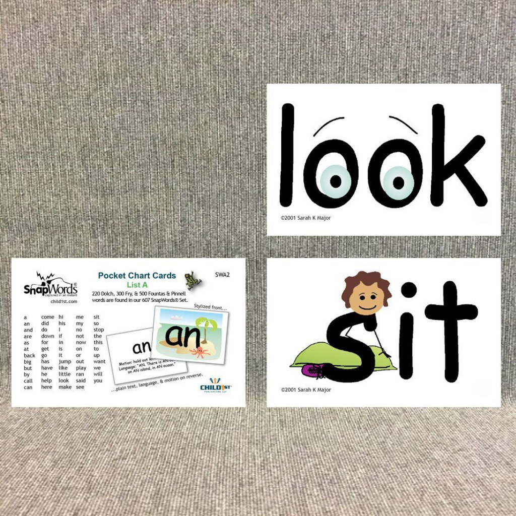 Cheap Sight Word Cards Printable Free, Find Sight Word Cards Inside - Free Printable Snapwords