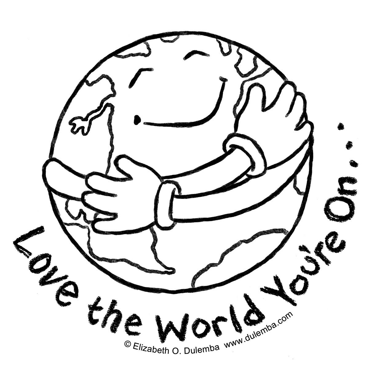 Children Aroun Kids Around The World Coloring Pages - Earth Coloring Pages Free Printable