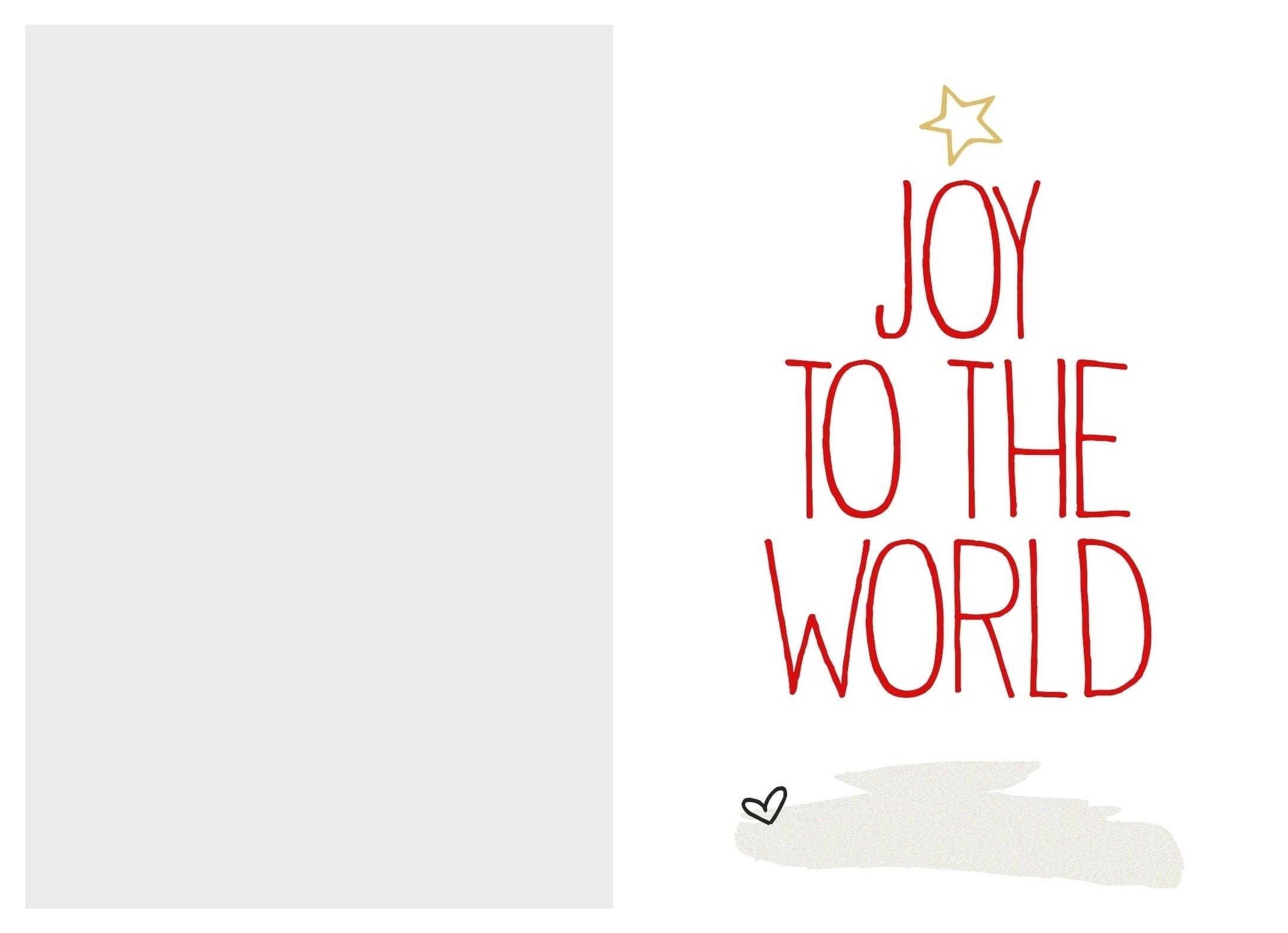 Christmas Card Templates Free Printable | Reactorread - Free Printable Christmas Card Templates