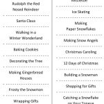 Christmas Charades (Free Printable Party Game) | Christmas | Holiday   Free Printable Christmas Charades Cards