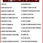 Christmas Charades Game And Free Printable Roundup!   A Girl And A   Christmas Song Lyrics Game Free Printable