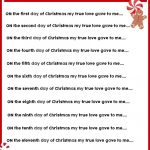 Christmas Charades Game And Free Printable Roundup! – A Girl And A – Christmas Song Scramble Free Printable