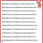 Christmas Charades Game And Free Printable Roundup! – A Girl And A – Christmas Song Scramble Free Printable