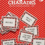 Christmas Charades Game And Free Printable Roundup!   A Girl And A   Free Printable Christmas Charades Cards