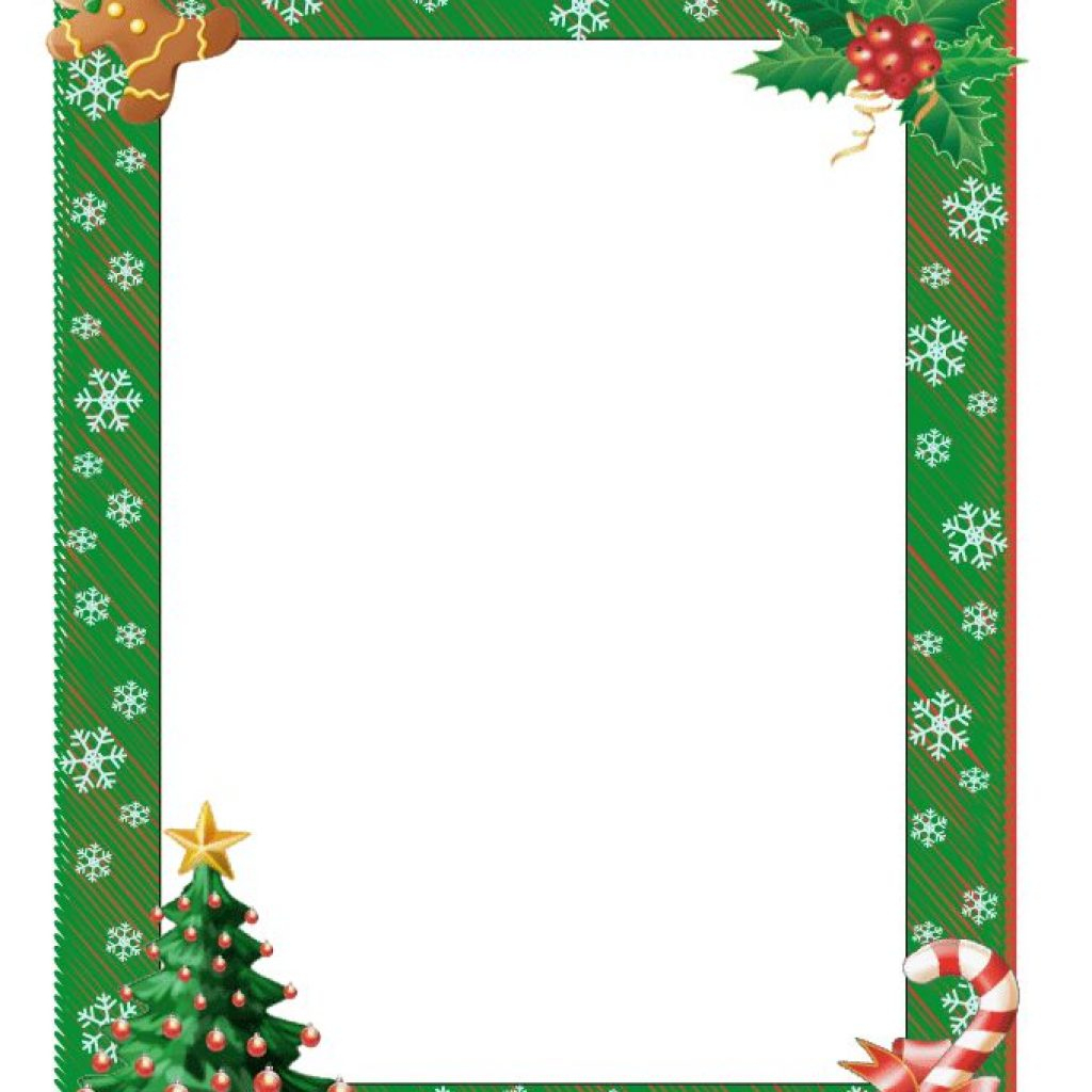 Christmas Document Borders | Free Clipart Download - Free Printable Christmas Borders