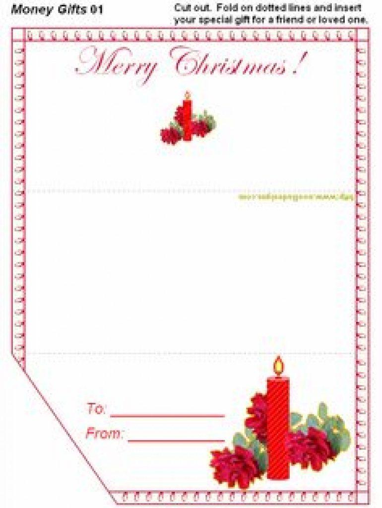 Christmas Money Wallets Free Printable   Free Printable - Christmas Money Wallets Free Printable