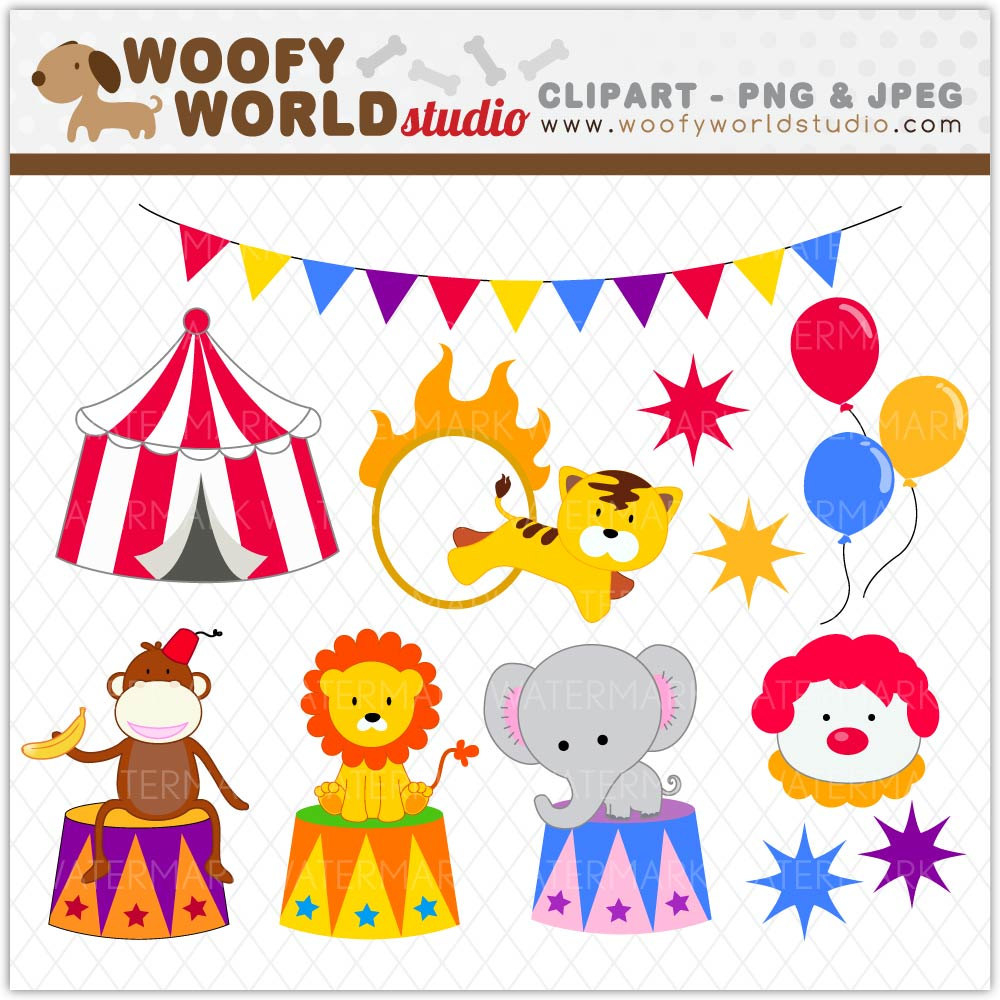 Circus Free Printable Clipart - Free Printable Clip Art