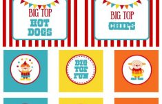 Free Printable Carnival Decorations