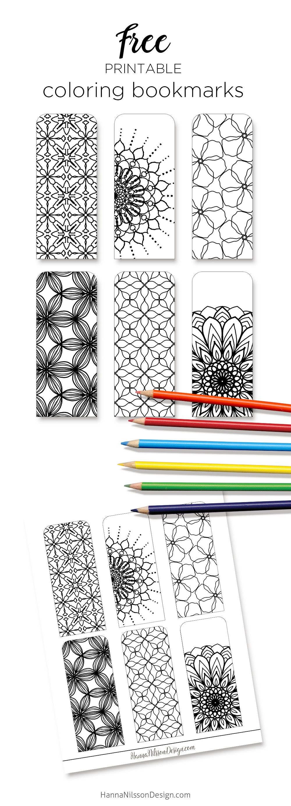 Coloring Bookmarks – Print, Color And Read | Printables | Bookmark - Free Printable Bookmarks To Color