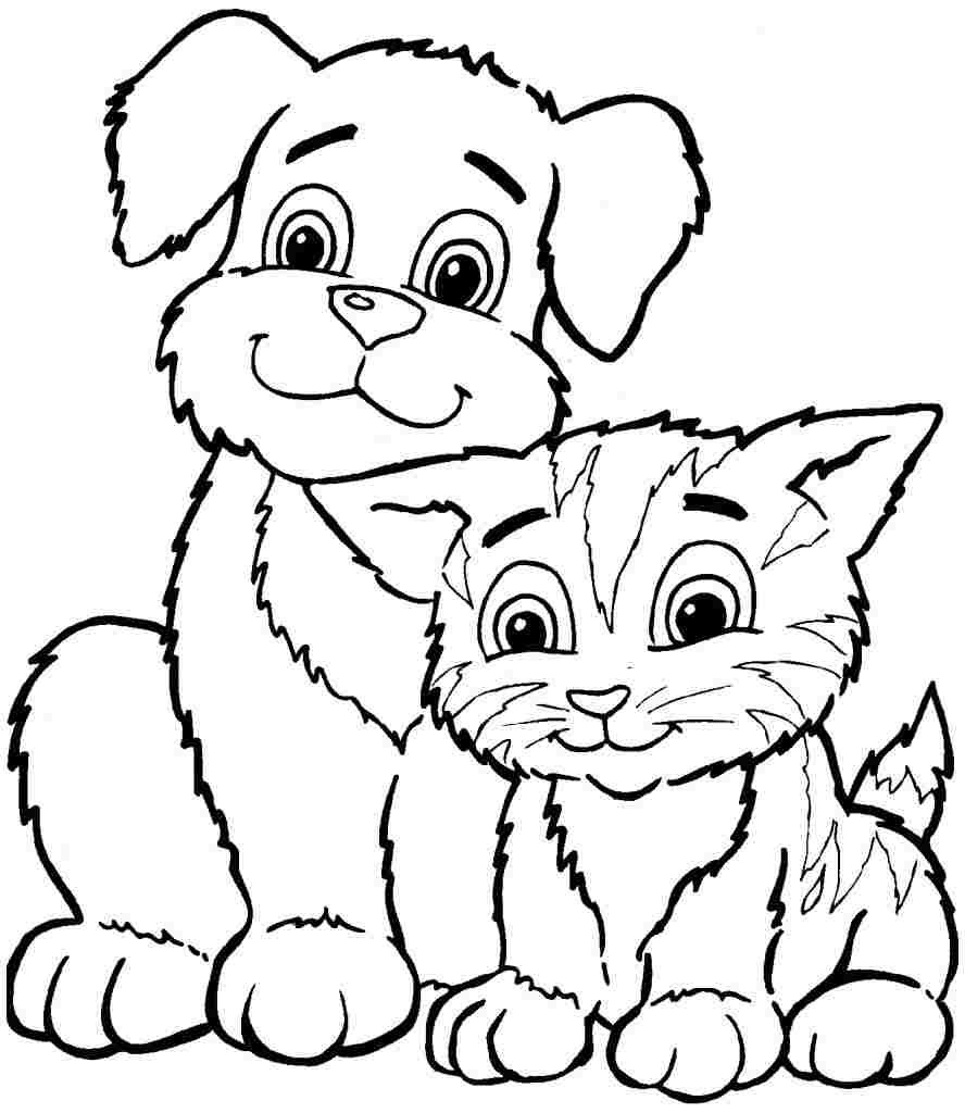 Coloring Pages : Awesomeable Animal Coloring Pages For Kids Animals - Free Coloring Pages Animals Printable