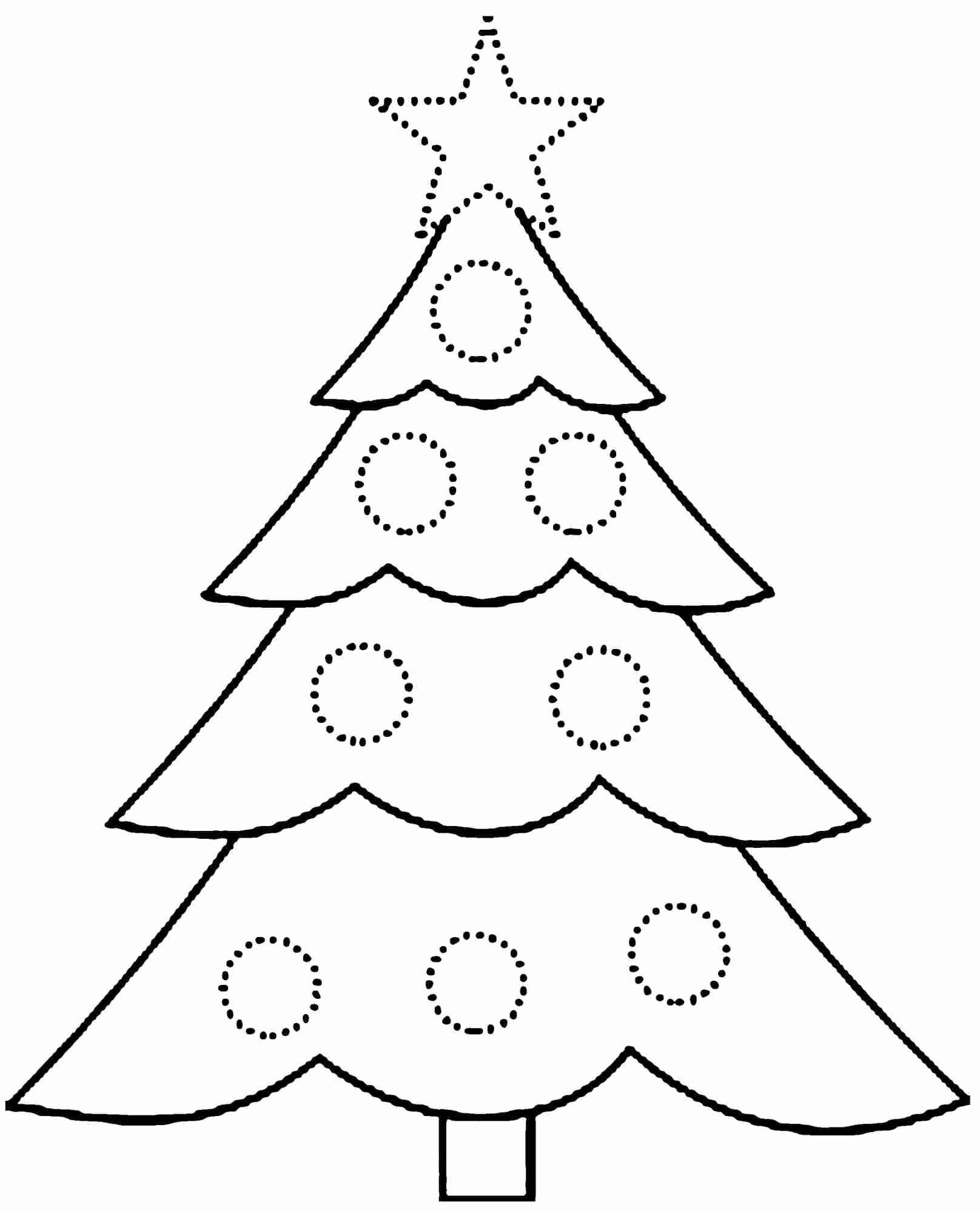 Coloring Pages Christmas Holly Best Free Printable Christmas Tree - Free Printable Christmas Tree Ornaments Coloring Pages