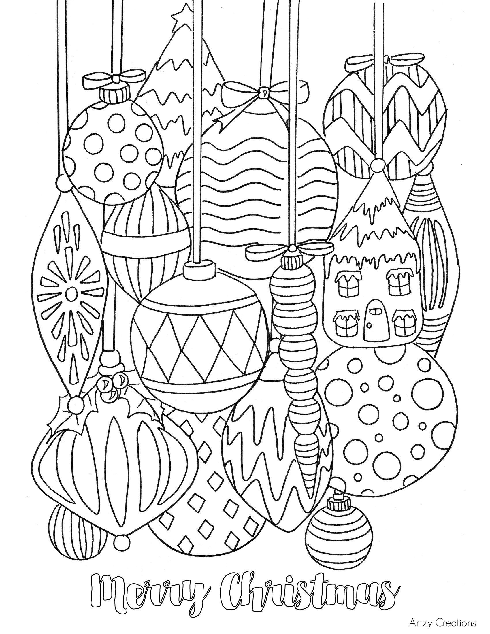 Coloring Pages ~ Christmasng Worksheets Pages Excelent Free - Free Printable Christmas Coloring Pages
