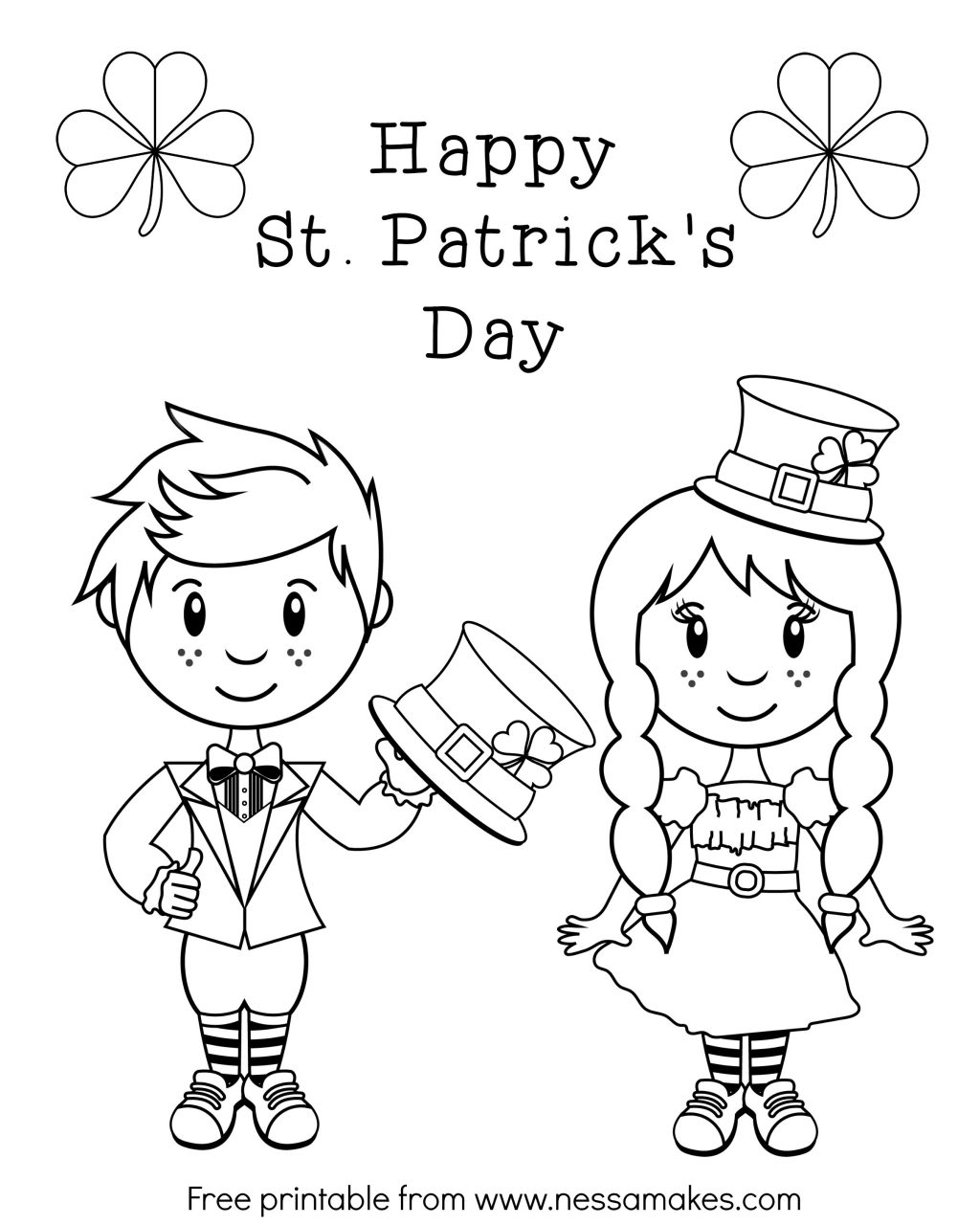 Coloring Pages ~ Coloring Pages Stks Sheets Free For Dayfree 45 - Free Printable Saint Patrick Coloring Pages