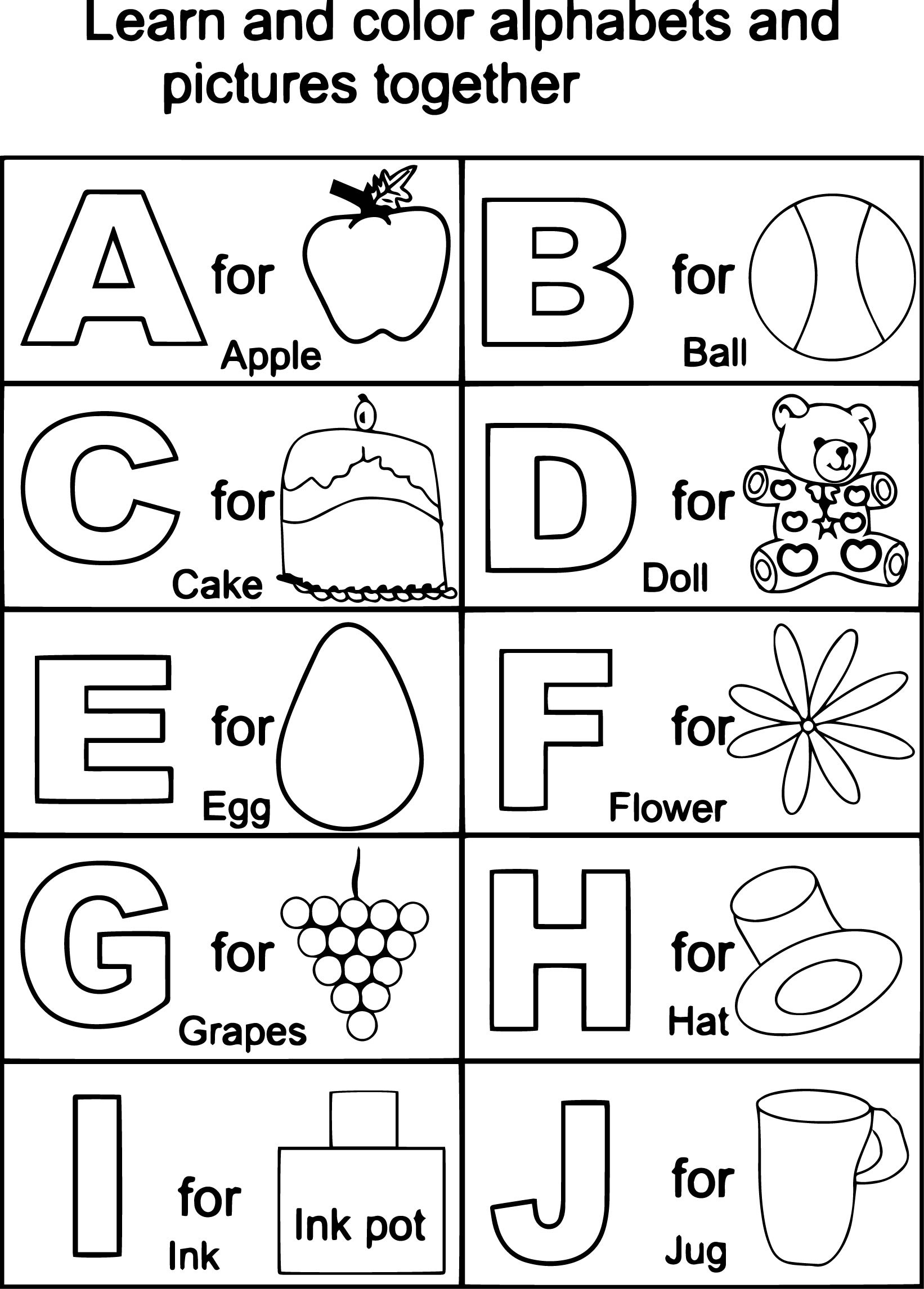 Coloring Pages : Coloring Pages Tremendous Free Printable Alphabet - Free Printable Alphabet Coloring Pages