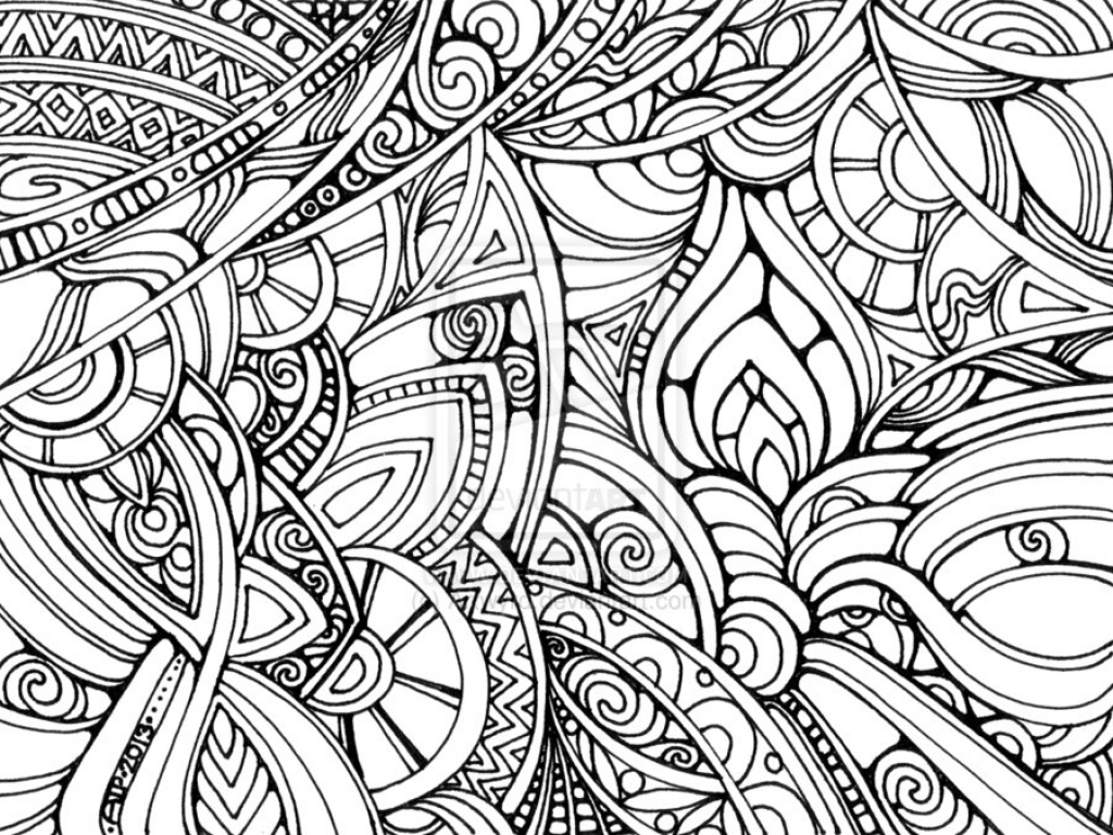 Coloring Pages : Coloringes Trippy For Adults Free Printable Ying - Free Printable Trippy Coloring Pages