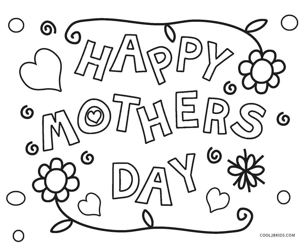 Coloring Pages : Colorings Mothers Day Image Ideas Printable For - Free Printable Mothers Day Coloring Pages