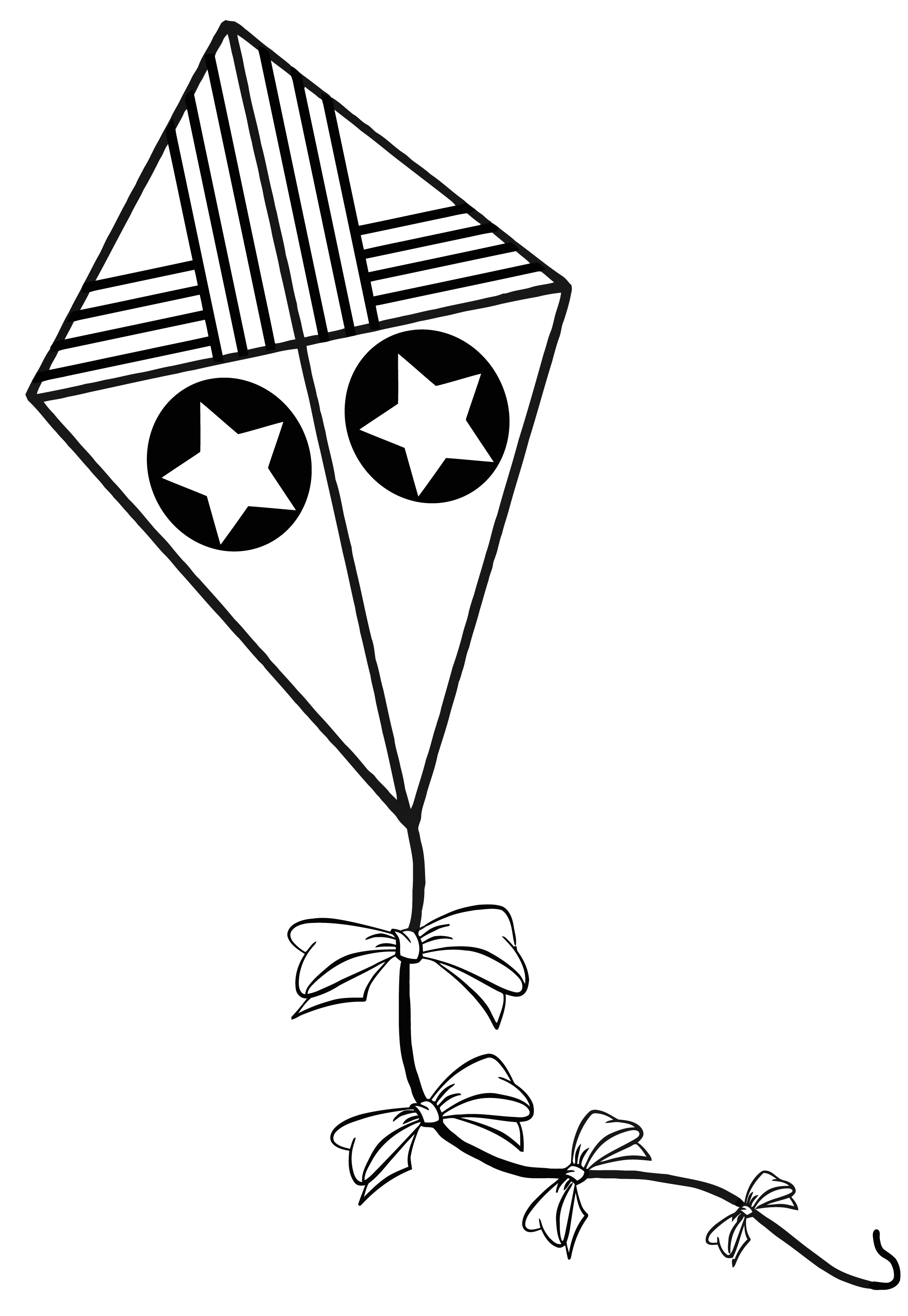 Coloring Pages : Colorings Pencil Printable Kite Drawing At - Free Printable Pencil Drawings