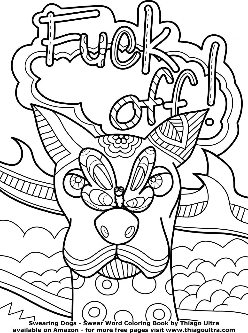 Coloring Pages Curse Words At Getdrawings | Free For Personal - Free Printable Coloring Pages For Adults Only Swear Words