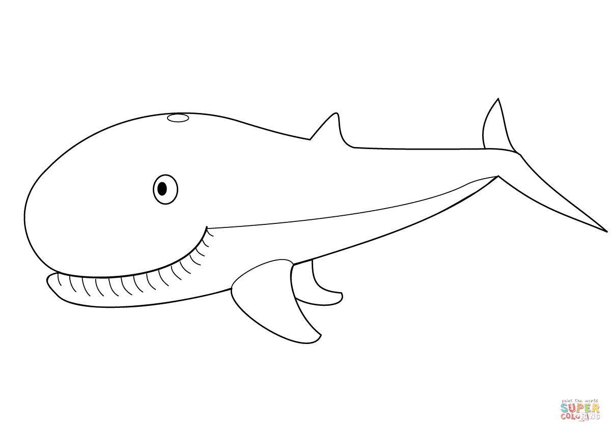 Coloring Pages : Cute Whale Coloring Page Free Printable Pages - Free Printable Whale Template