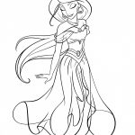 Coloring Pages : Disney Coloring Pages Colornumber Oliver And   Free Printable Princess Jasmine Coloring Pages
