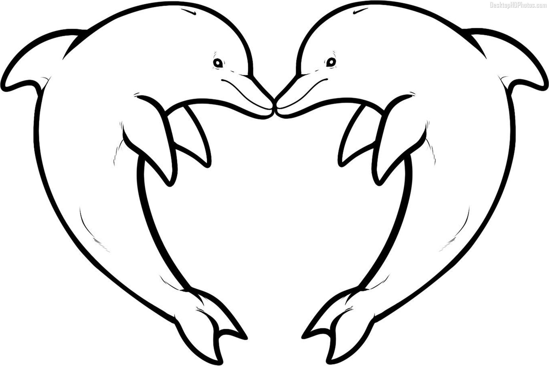 Coloring Pages : Dolphins Coloring Pages Dolphin To Print Out - Dolphin Coloring Sheets Free Printable