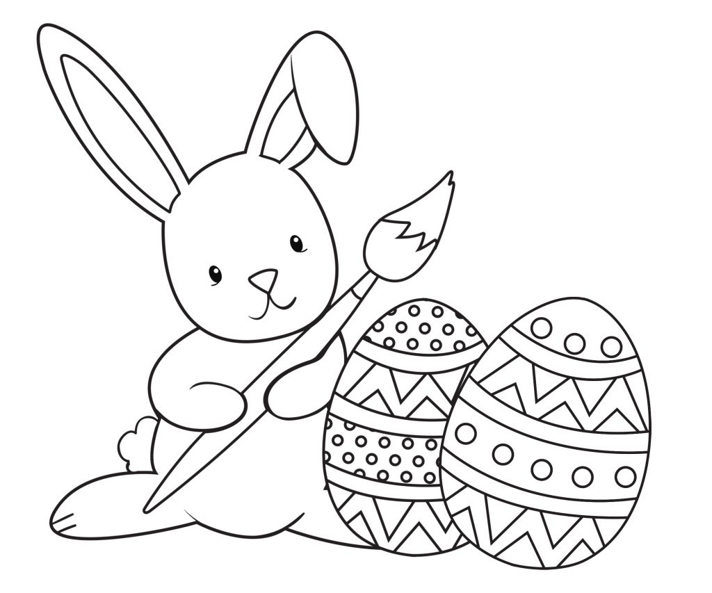 Coloring Pages ~ Easter Coloring Pages For Kids Crazy Little - Free Printable Easter Coloring Pages