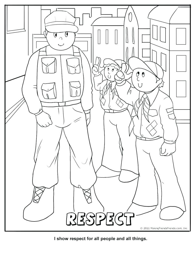 Coloring Pages ~ Fabulousle Library Coloring Pages Picture Ideas Cub - Free Printable Coloring Pages On Respect
