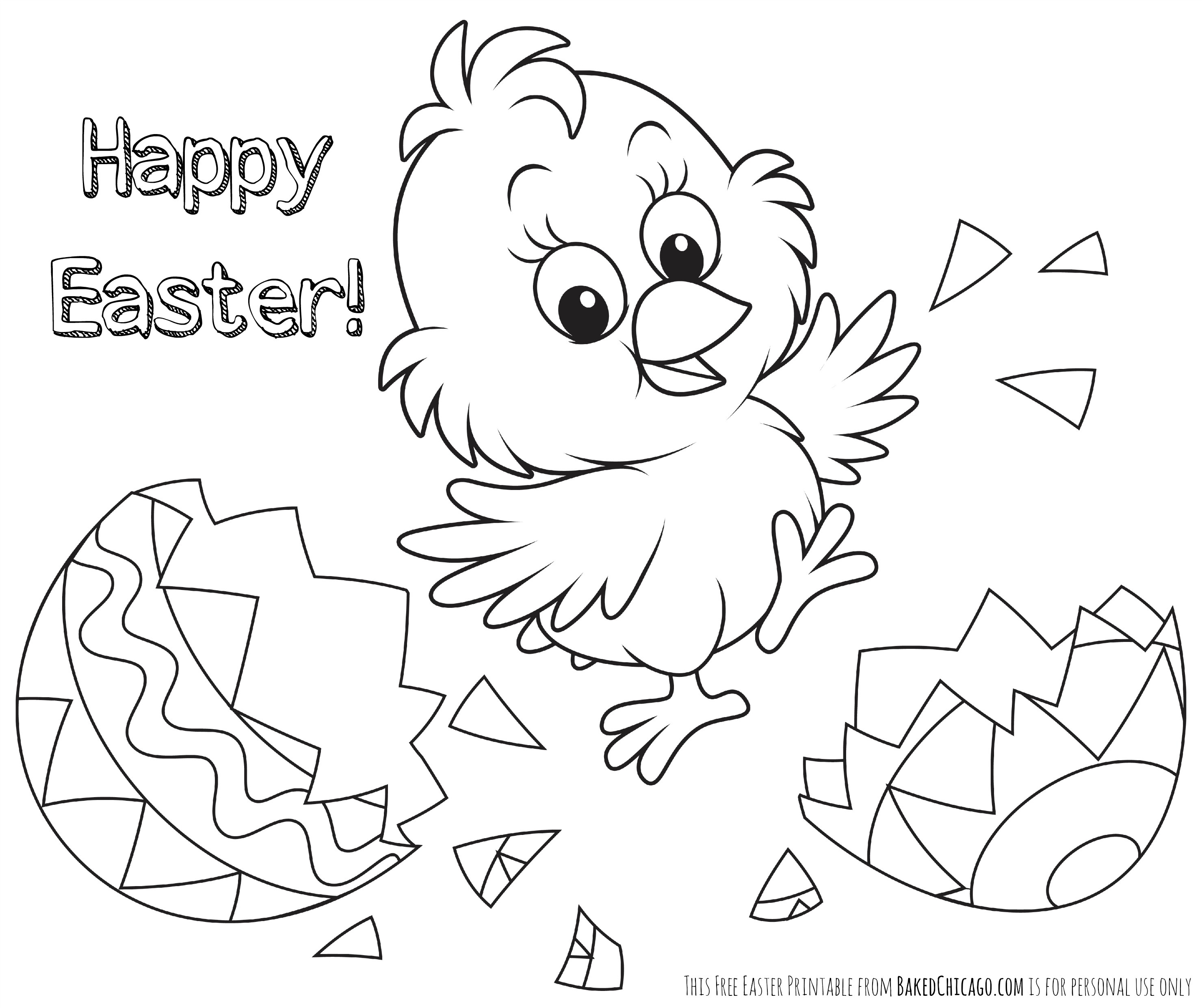 Coloring Pages : Free Easter Coloringes For Kidsfree To Print - Free Easter Color Pages Printable
