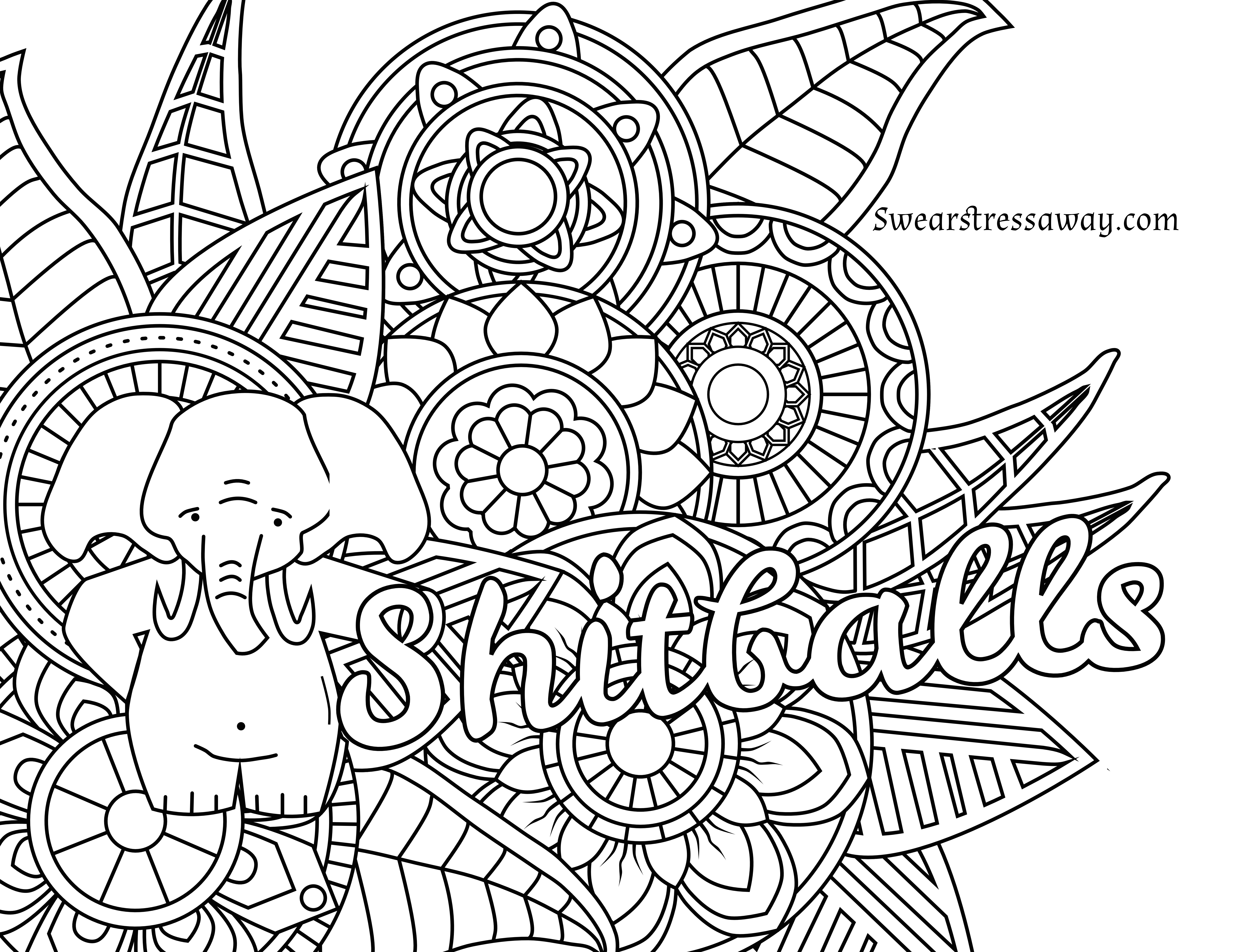 Coloring Pages : Free Printable Coloring Pages Adults Quotes For - Free Printable Coloring Pages For Adults