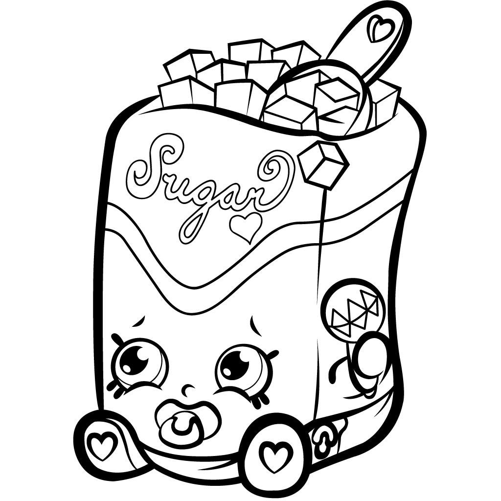 Coloring Pages ~ Free Printable Shopkins Coloring Pages Donut Free - Shopkins Coloring Pages Free Printable