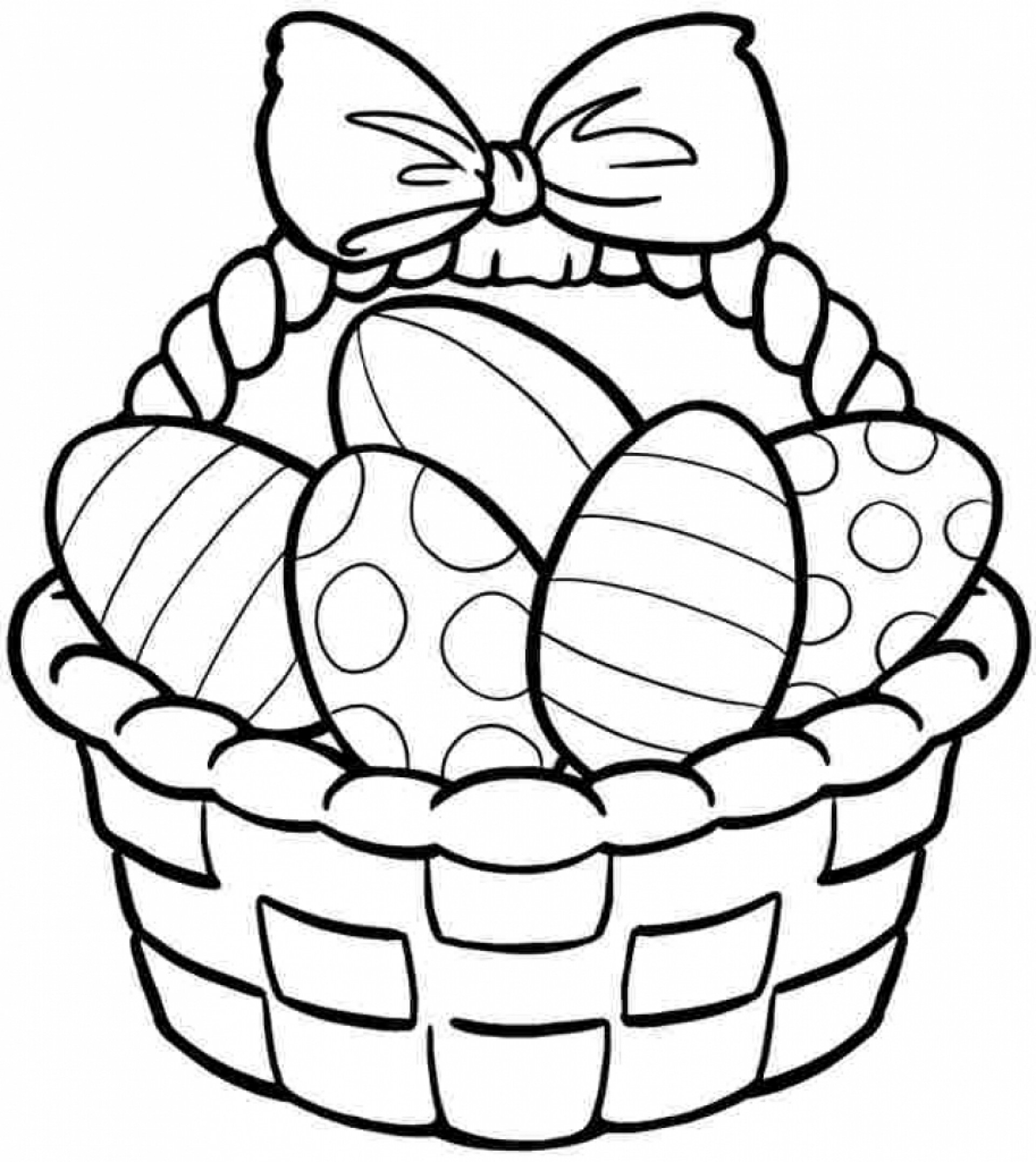 Coloring Pages : High Resolution Coloring Book Images Free Printable - Free Printable Coloring Pages Easter Basket