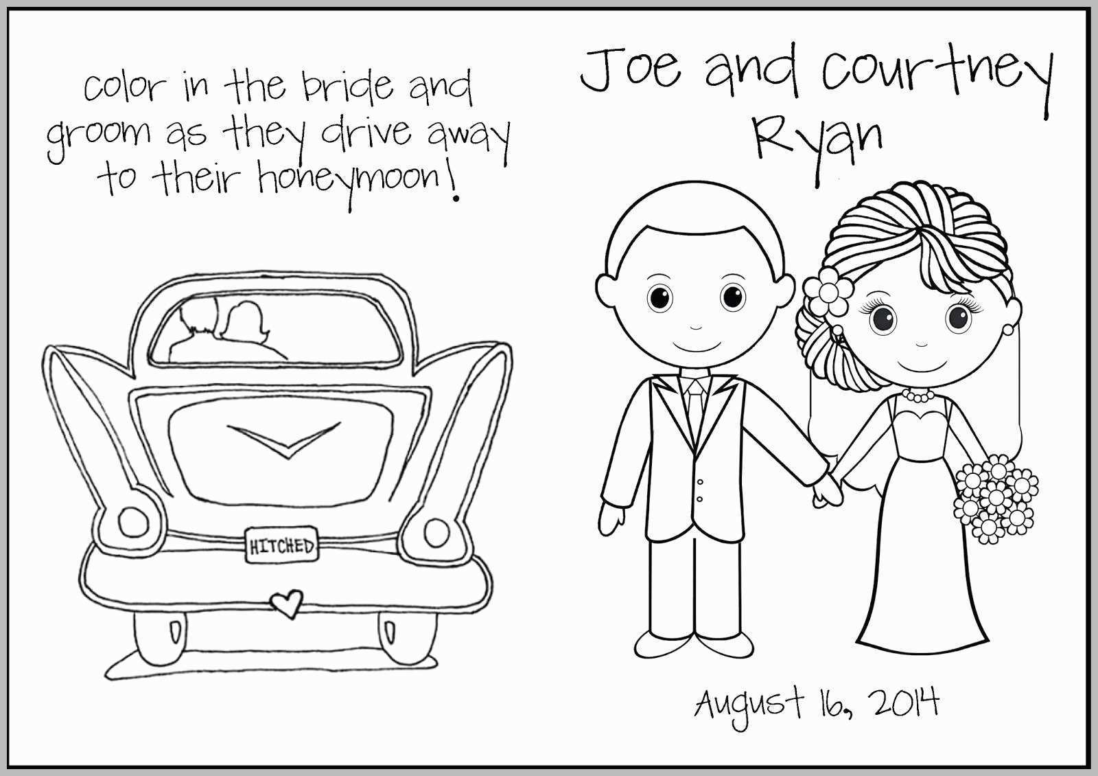 Coloring Pages : New Release Stocks Of Free Printable Personalized - Free Printable Personalized Wedding Coloring Book