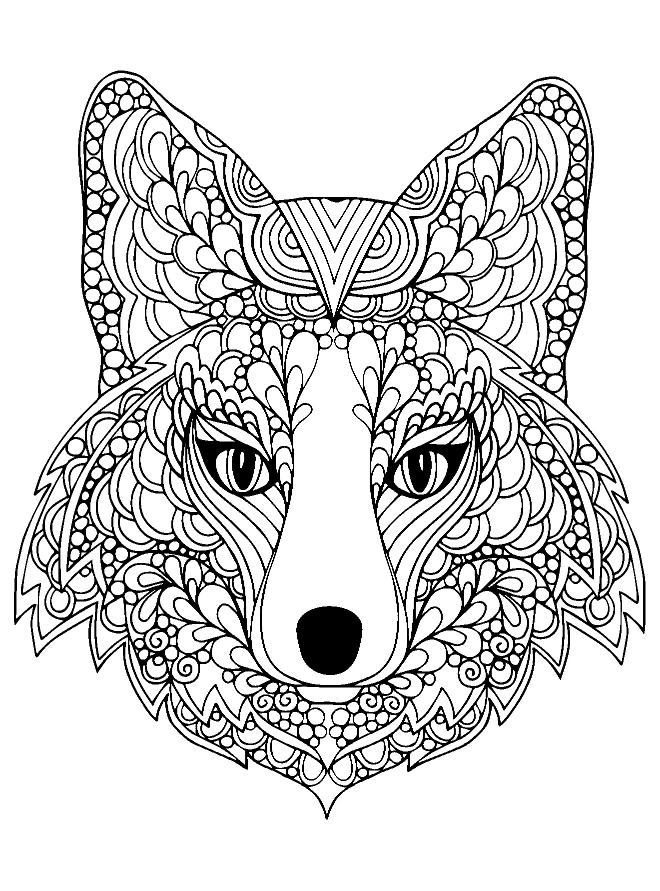 Coloring Pages : Printable Animal Coloring Pages Free Wild Sheets - Free Printable Animal Coloring Pages