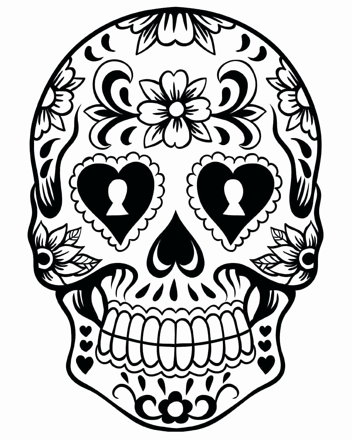 Coloring Pages : Printable Dia Los Muertosoloring Pages Day Of The - Free Printable Sugar Skull Day Of The Dead Mask