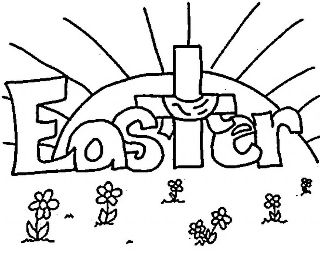 Coloring Pages ~ Religious Easter Coloring Pages With Free Christian - Easter Color Pages Free Printable