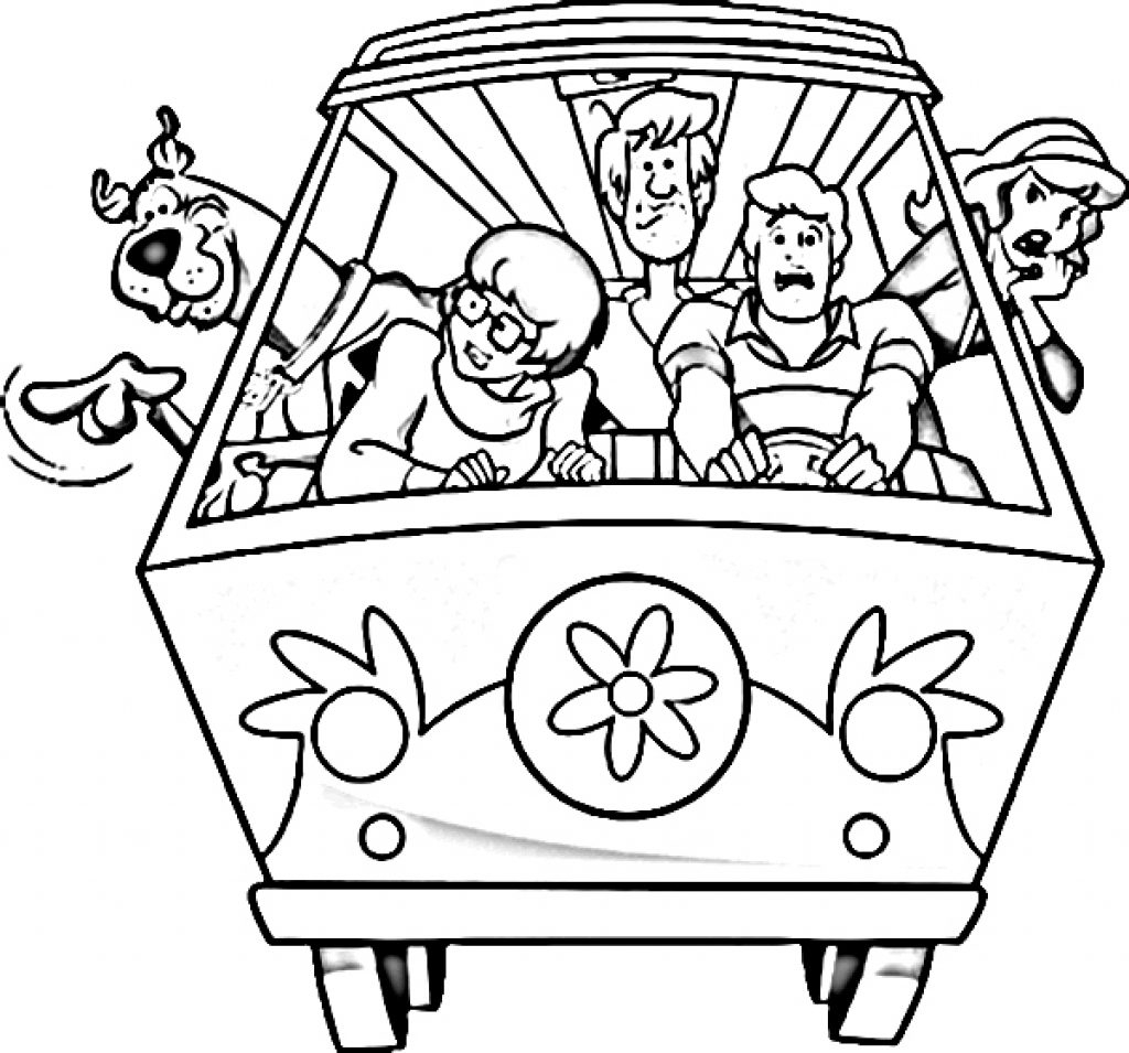 Coloring Pages : Scooby Dooloring Sheets Amazing Scoo Pages With - Free Printable Coloring Pages Scooby Doo