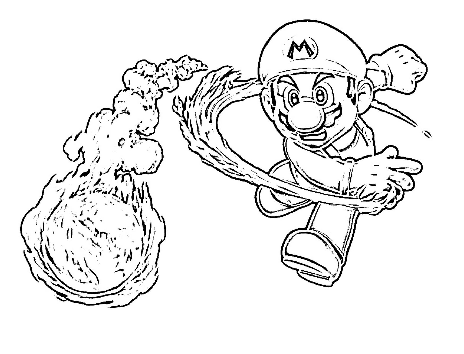 Coloring Pages : Super Mario Bros Coloring Pages At Getcolorings Com - Mario Coloring Pages Free Printable