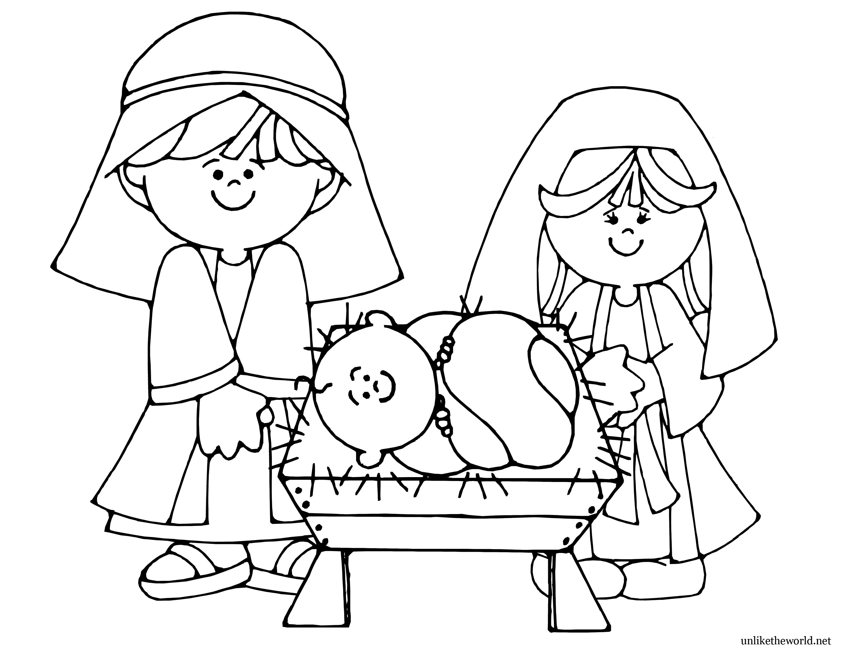 Coloring Pages ~ Thehristmas Storyoloring Pages Baby Jesus In Manger - Free Printable Christmas Baby Jesus Coloring Pages