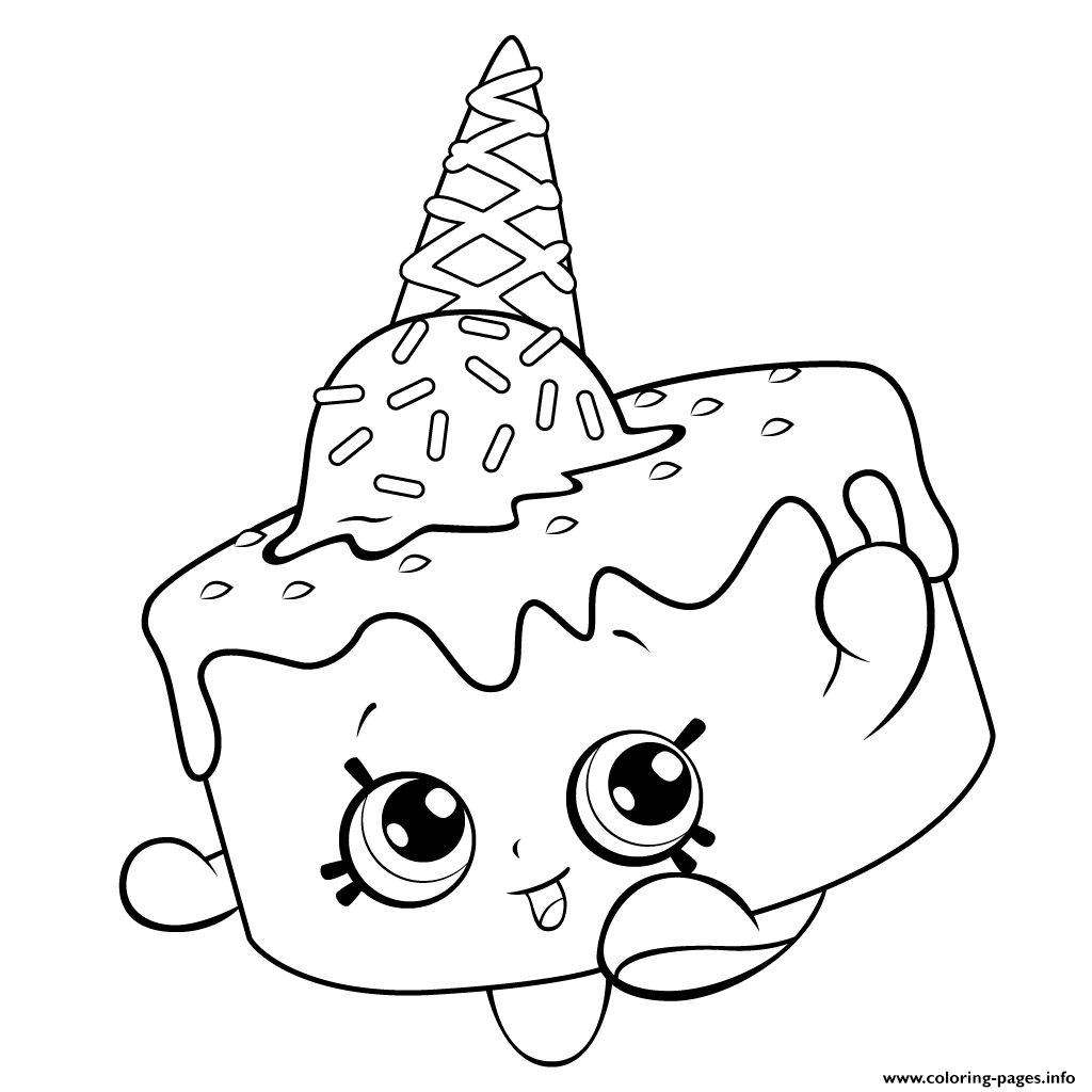 Coloring Pages : Unsurpassed Ice Creamoring Pages For Free Shopkins - Ice Cream Color Pages Printable Free
