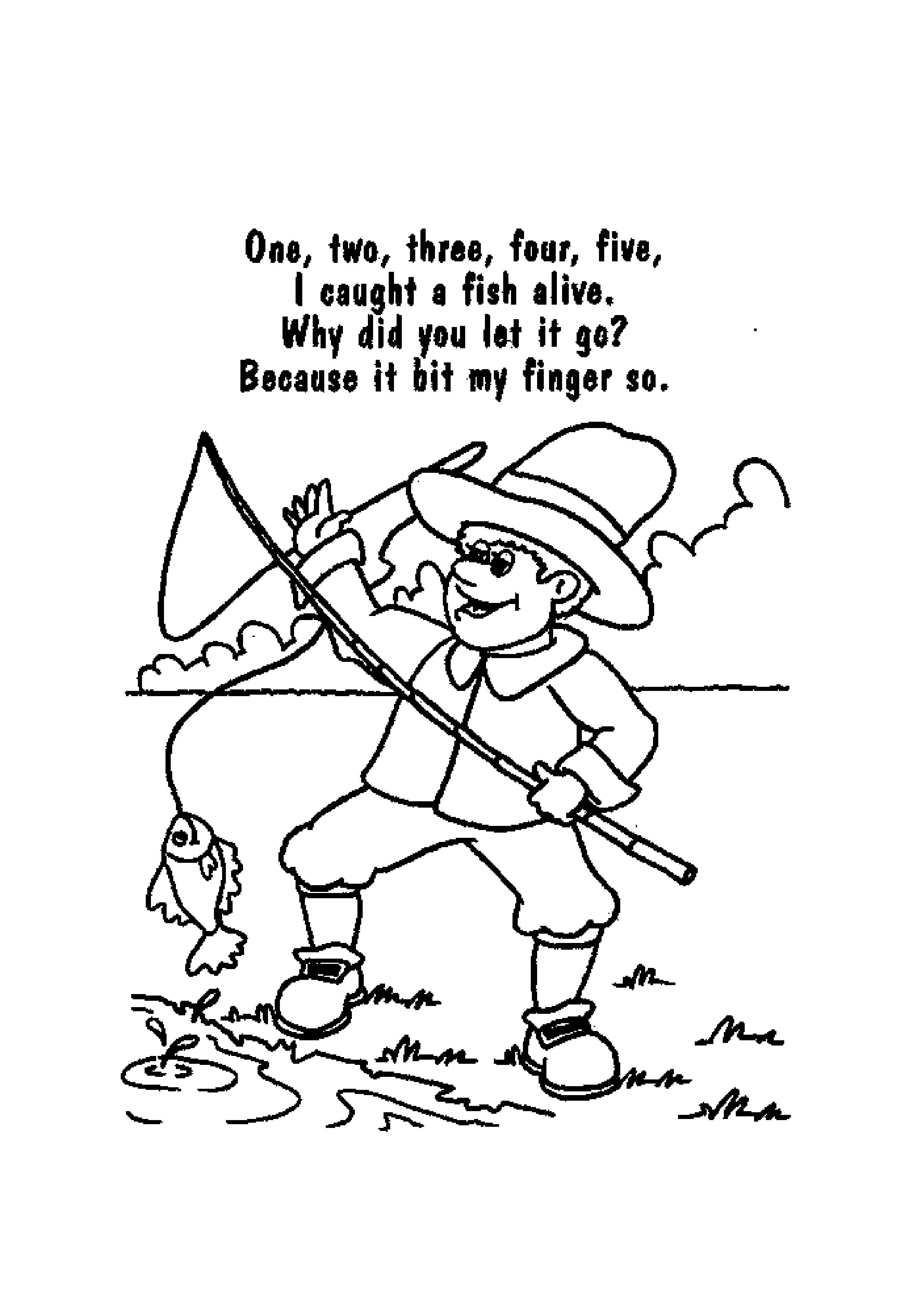 Coloring Sheets Nursery Rhymes Gambarin Us - Nursery Rhymes Coloring - Free Printable Nursery Rhyme Coloring Pages