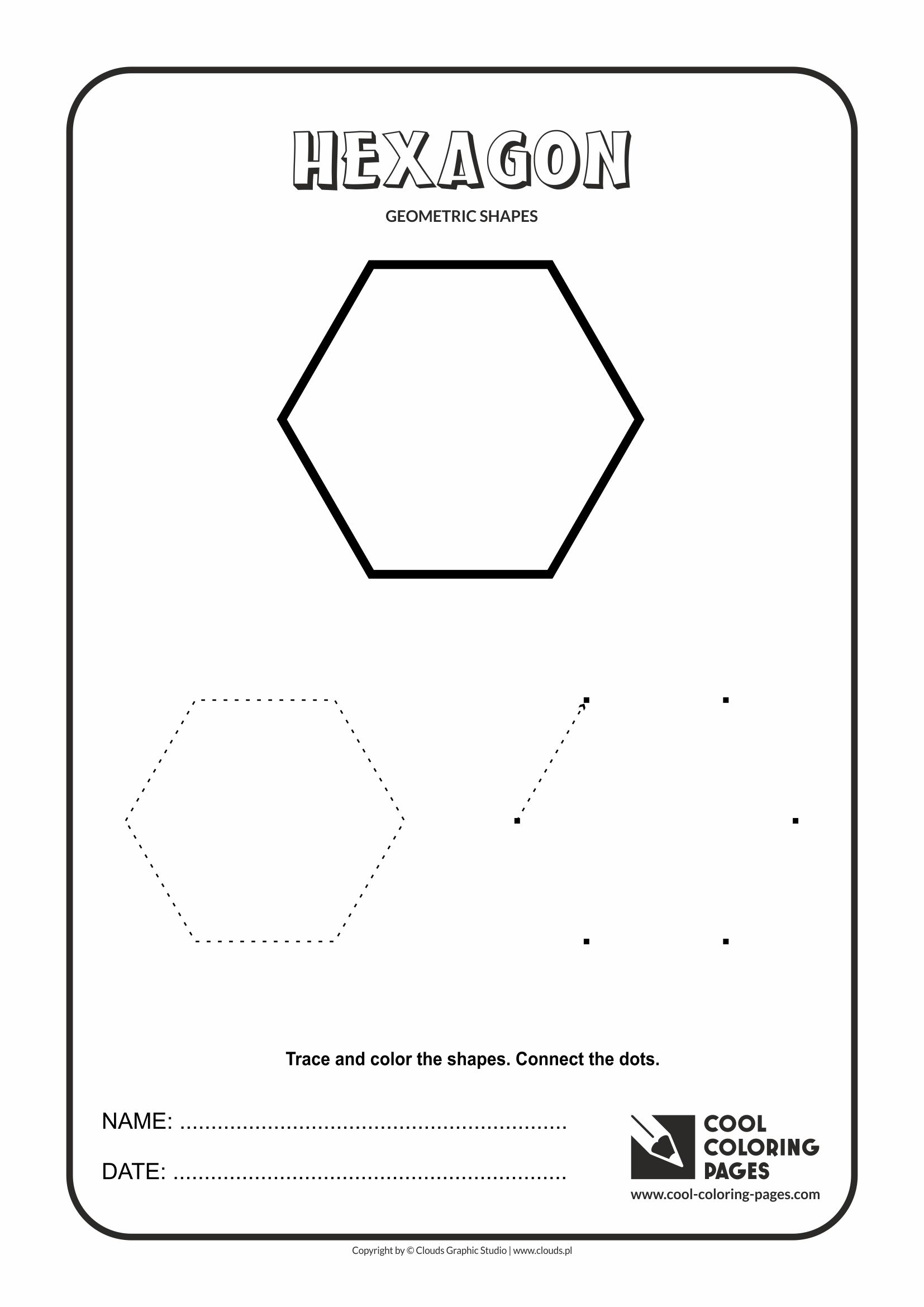 Cool Coloring Pages Geometric Shapes - Cool Coloring Pages | Free - Free Printable Geometric Shapes