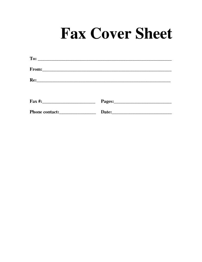 Cover Letter Template For Fax #cover #coverlettertemplate #letter - Free Printable Fax Cover Sheet Pdf